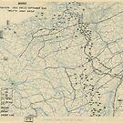 Zwölfter Armeegruppe - Lageplan 25. September 1944 von allhistory