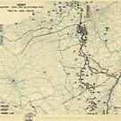 Zwölfter Armeegruppe - Lageplan 14. Oktober 1944 von allhistory