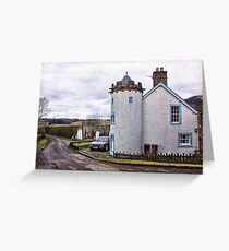 A House In The Country Greeting Card