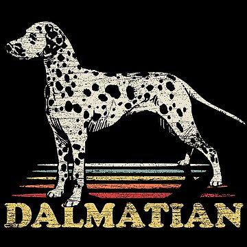 Dalmatian barking by GeschenkIdee