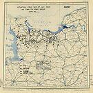 Zwölfter Armeegruppe - Lageplan 27. Juli 1944 von allhistory