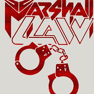 Marshall Law - Heavy Metal Logo by tomastich85
