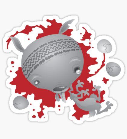 Splat Bunny Sticker
