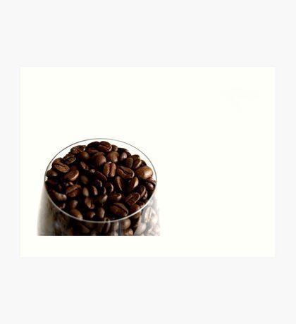Coffee is my Aphrodisiac Art Print