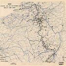 Zwölfter Armeegruppe Lageplan 29. November 1944 von allhistory