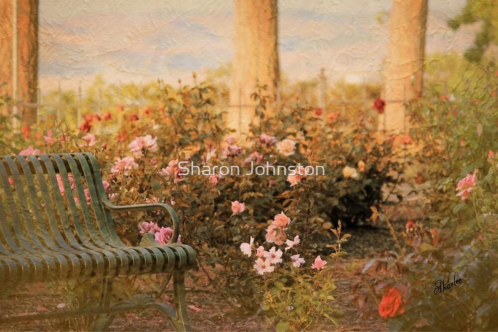 Memorial Rose Garden, Sorosis Park, The Dalles Oregon by Sharon Johnston