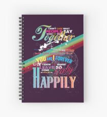Happily Spiral Notebook