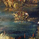 Pond-A study in oils by Yianni Digaletos