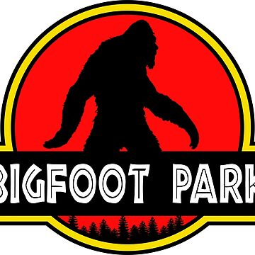 Bigfoot Park Jurassic Parody  by ThatMerchStore