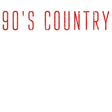 90er Jahre Country-Musik by 4tomic