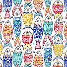 Fish Print  by TigaTiga