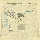 Zwölfte Armeegruppen-Lagekarte vom 28. Juni 1944 von allhistory