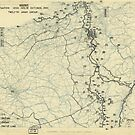 Zwölftes Heeresgruppe Lageplan 19. Oktober 1944 von allhistory