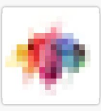 Splash of colors Sticker