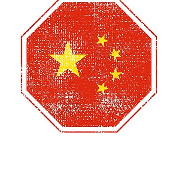 China Chinese Flag by 4tomic