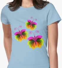Schmetterling Womens Fitted T-Shirt
