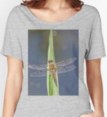 Dragonfly resting 2 Women's Relaxed Fit T-Shirt