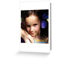 Mata Mina Greeting Card