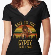 Zurück zu den Zigeunern, dass ich Vintage Retro T-Shirt war Shirt mit V-Ausschnitt