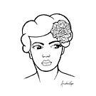 Billie Holiday by Anuschka Raper