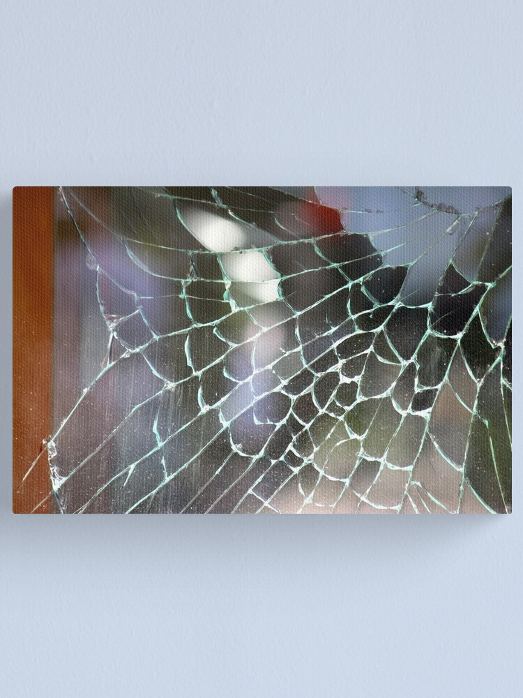 Alternate view of Cracked Canvas Print