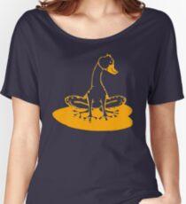 duckfrog - frog, duck, funny, cartoon, cute, humor Women's Relaxed Fit T-Shirt