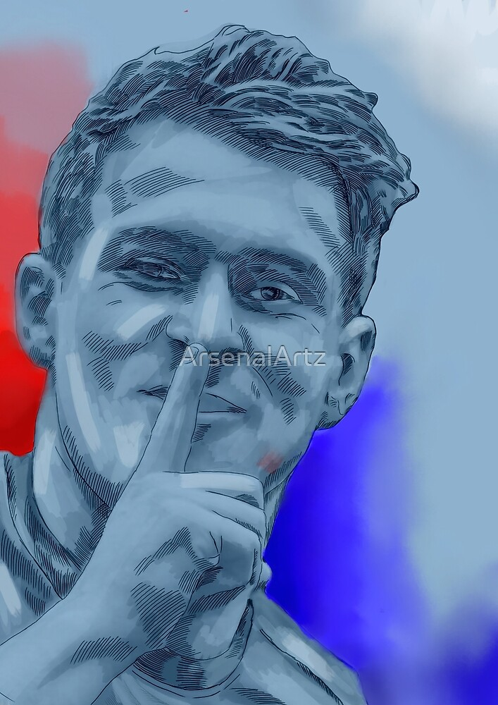 Aaron Rambo Ramsey by ArsenalArtz