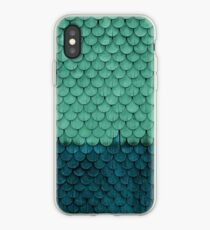 SHELTER / Green, Petrol iPhone Case