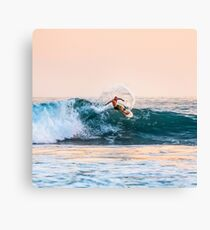 Wave to surf Canvas Print