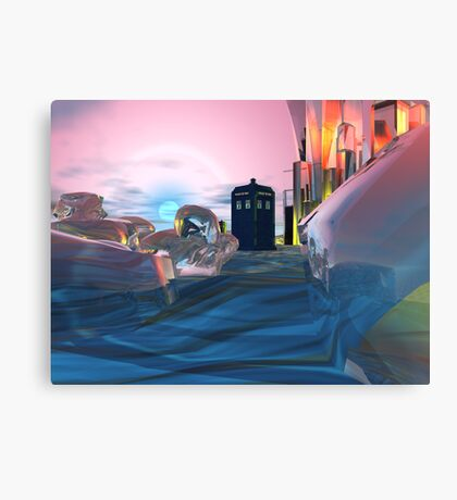 Let me take you to a time . . . Canvas Print