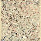 Zwölfter Heeresgruppe Lageplan 14. Juli 1945 von allhistory