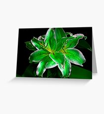 St. Paddy's Day Lily Greeting Card
