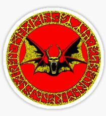 Ozzy Bat Orb 2 Sticker
