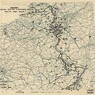 Zwölfter Heeresgruppe Lageplan 3. Dezember 1944 von allhistory