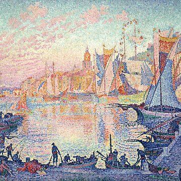 The Port of St. Tropez, Paul Signac by fourretout