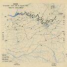 30. August 1944 Zwölfte Armeegruppensituation Karte des Zweiten Weltkrieges von allhistory