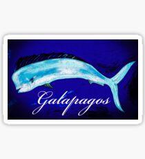 Galapagos Mahi  Sticker