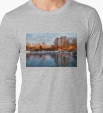 Cold Ice, Warm Light – Lake Ontario Impressions Long Sleeve T-Shirt