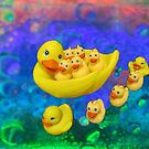 Swimming In Bubbles by Linda Miller Gesualdo