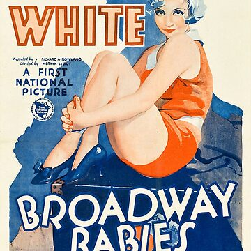 Classic Movie Poster - Broadway Babies by SerpentFilms