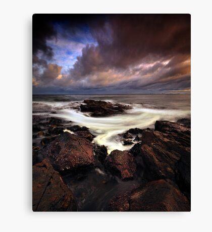 Coppertones Swirl Canvas Print