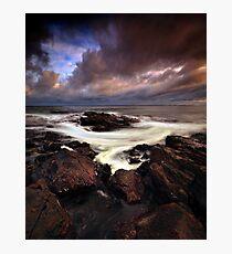 Coppertones Swirl Photographic Print