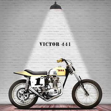 The Victor 441 Classic Motorcycle by rogue-design