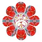 Nifty Red Peace Flower by MagickMama