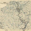 8. Dezember 1944 Zwölfte Armeegruppensituation Karte des Zweiten Weltkrieges von allhistory