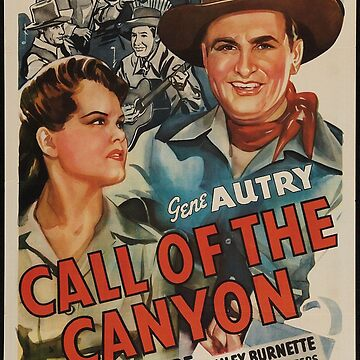 Classic Movie Poster - Call of the Canyon by SerpentFilms