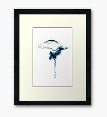 Blue Bottle Framed Print