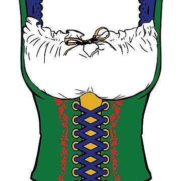 Oktoberfest Dirndl Design | Beer Festival in Germany Gift by NBRetail