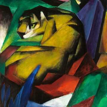 The Tiger, Franz Marc by fourretout