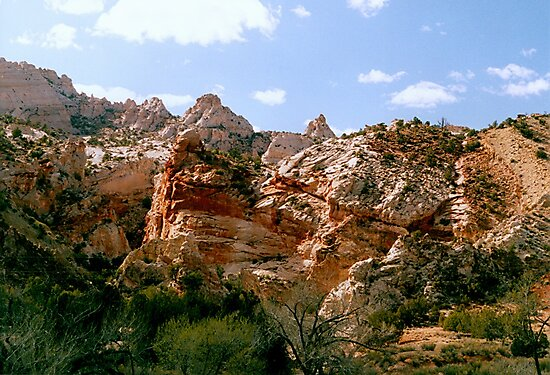 Grand Staircase - Escalante Red Rocks by PatGoltz